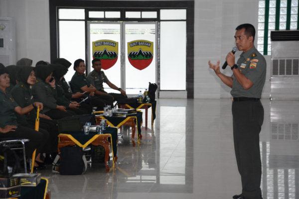 Kapendam I/BB Ajak Para Kowad untuk Berhati-hati dan Teliti Dalam Gunakan Medsos