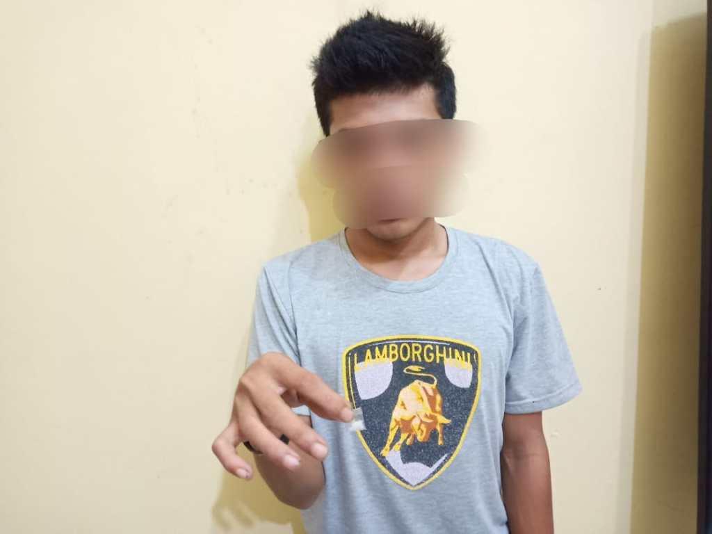 Terlibat Kasus Narkoba,Pemuda Asal Desa Sentang Ditangkap Polisi