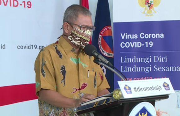 BNPB : Pasien Covid -19 Sembuh Bertambah Jadi 204 Orang