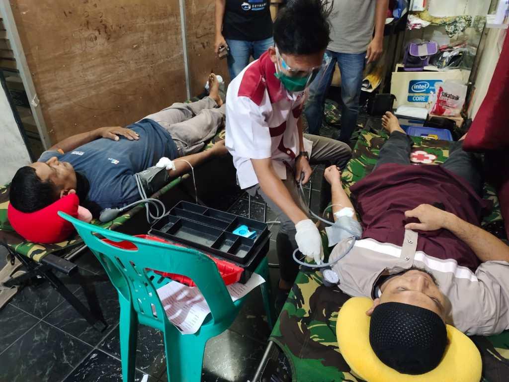 PMI Asahan Jemput Bola Demi Upayakan Ketersediaan Stok Darah