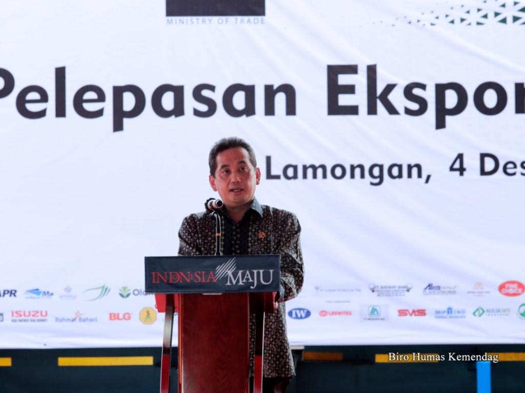 Kemendag Lepas Ekspor Serentak di 16 Provinsi di Indonesia