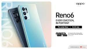 OPPO Reno6 Resmi Meluncur, Bawa Pengalaman AI Video Portrait Tingkat Lanjut