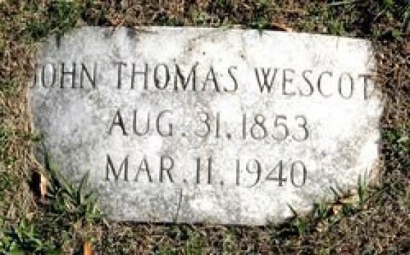Capt John Thomas Wescott