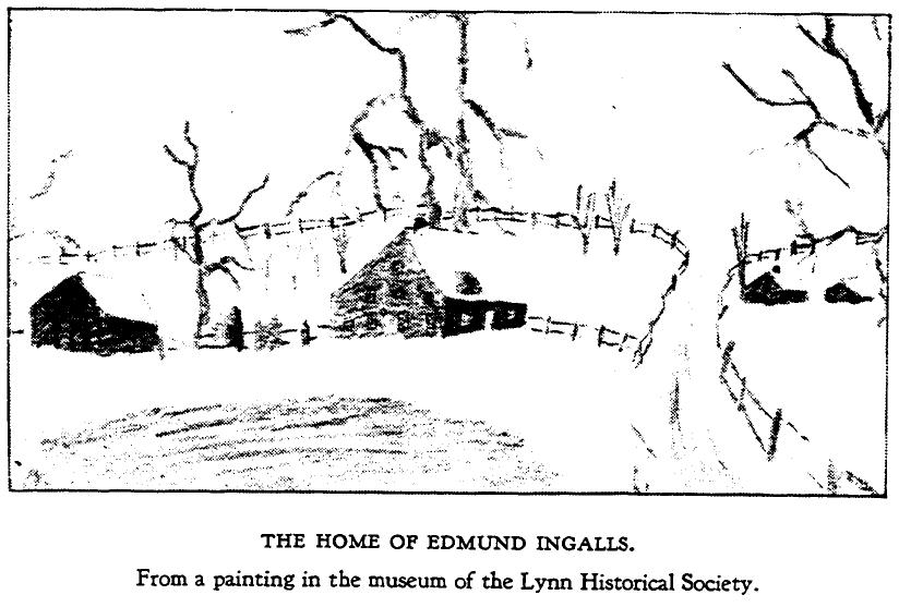 Home of Edmund Ingalls - Painting of Lynn, MA