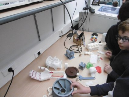 Atelier imprimante 3D - Mercredi 12 avril 2017