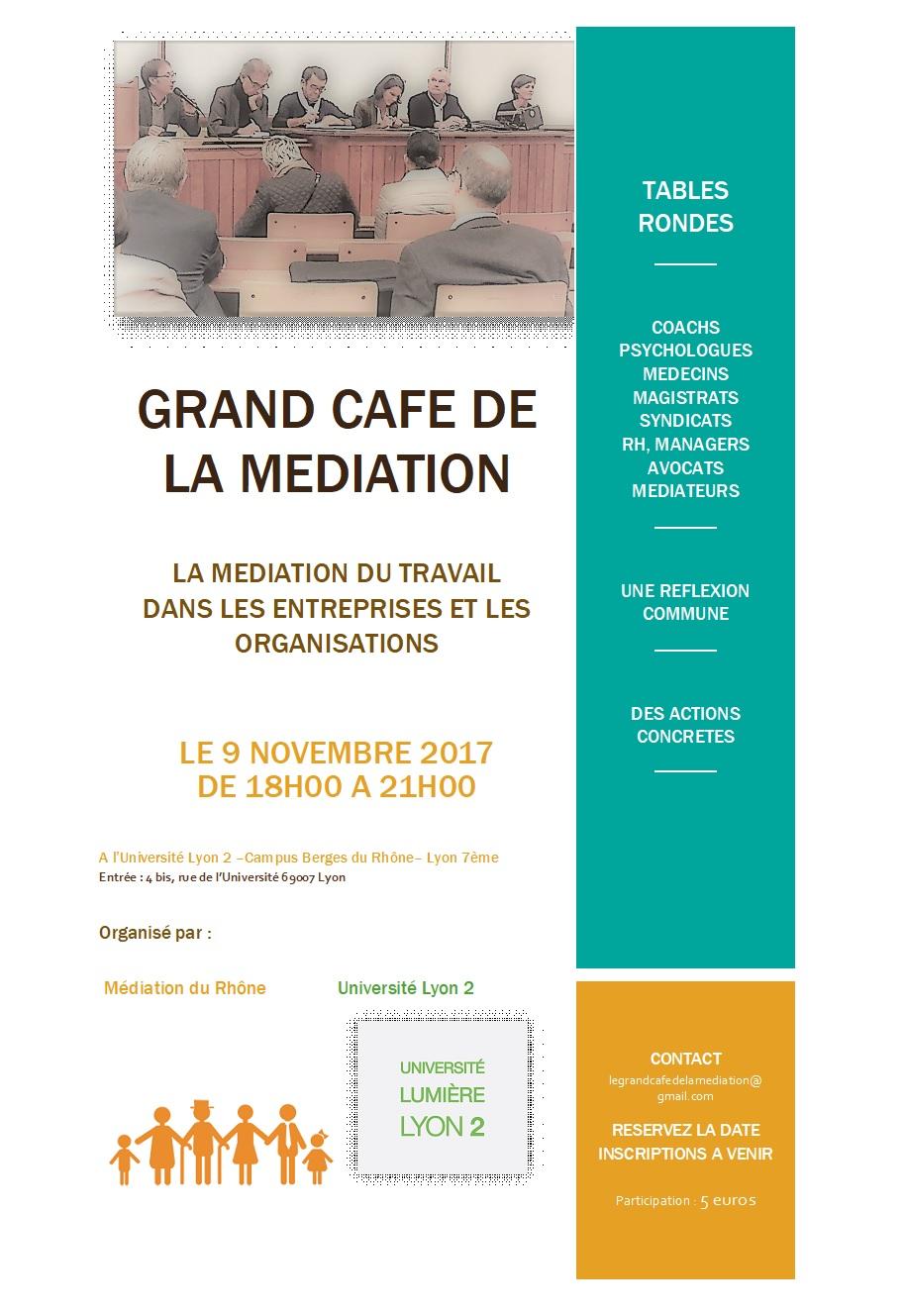 Grand Café de la Médiation 2017