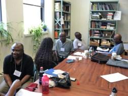 Participants practice active listening and reflection techniques.