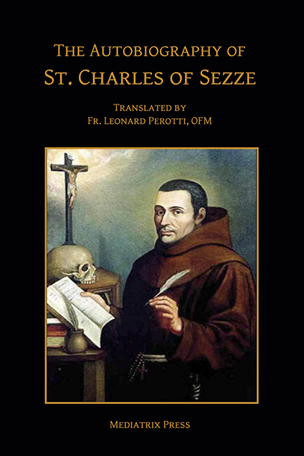Autobiography of St. Charles of Sezze