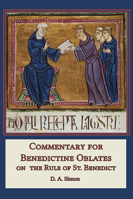 Commentary for Oblates - hcover