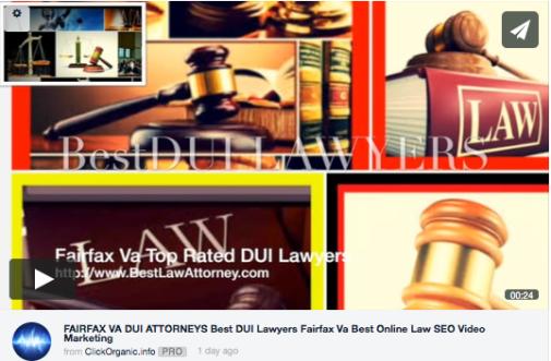 DUI Lawyers virginia best online video marketing attorneys