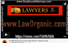 Best Law SEO and online video marketing for asttortneys and lawyers