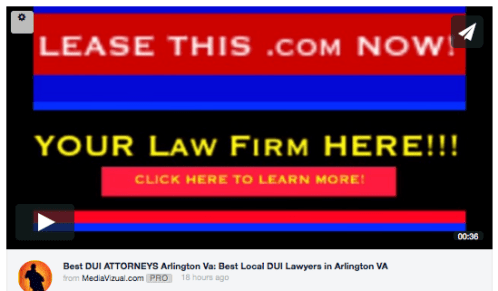 best seo and law firm online video marketing