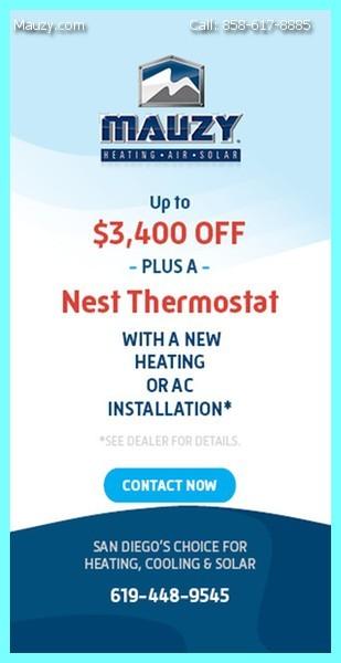 Heating Installation San Diego