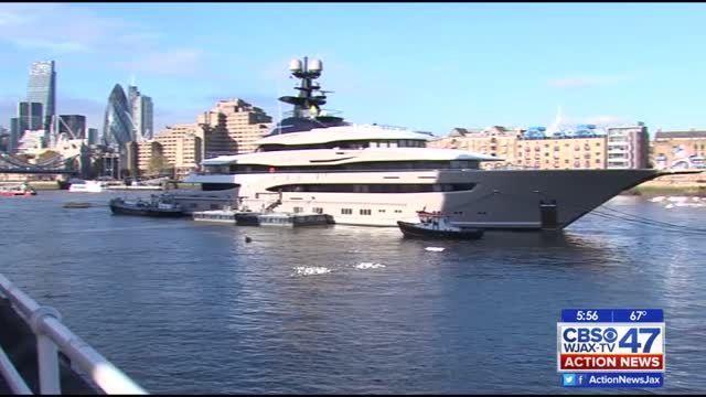 Jags In London Shad Khans New Yacht WJAX TV