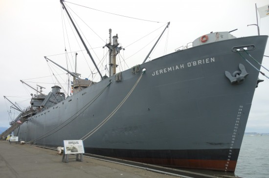 Jeremiah OBrien ship May 8 2013