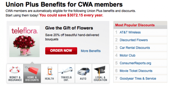 cwa-union-plus-benefits