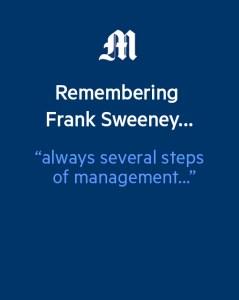 Remembering Frank Sweeney