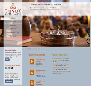 Bozeman Church Website Design and Development