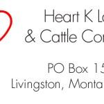 Livingston Ranch Address Label Design