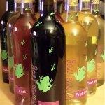 Wine label design and illustration