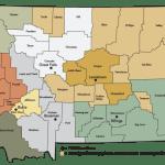 montana-county-map illustration custom map design