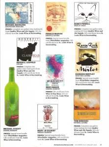 wine_maker_magazine_honorable_mention_label_winner_chorus_frog_winery_wine_label_design