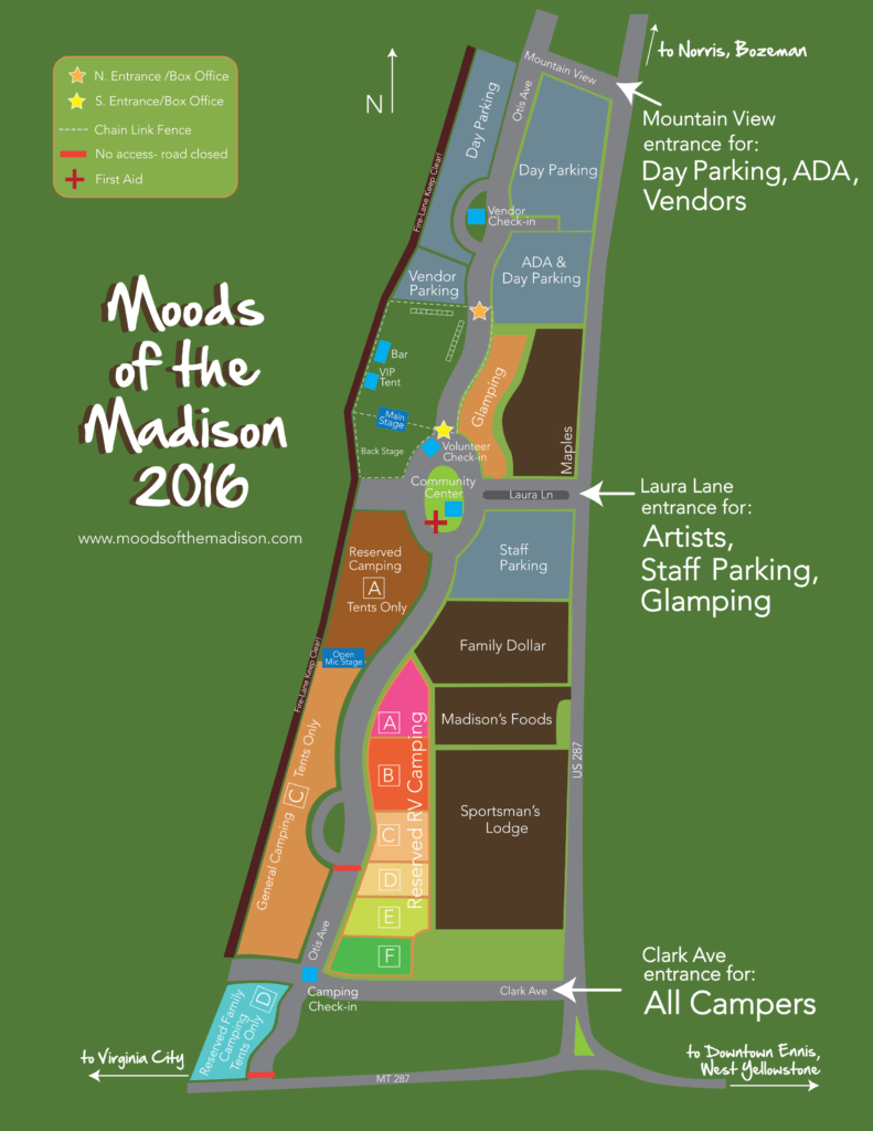 Moods of the Madison Map 2016