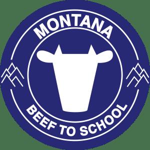 montana Beef to school logo design