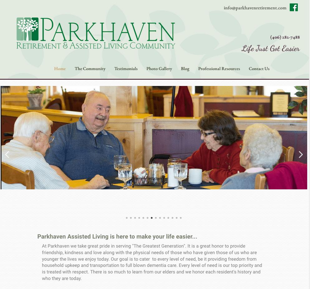 parkhaven_retirement_website_design_manhattan_montana