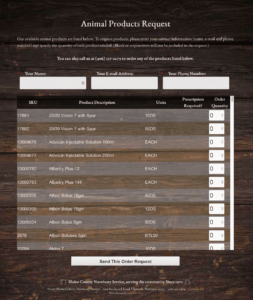 website design bozeman montana product request form programming