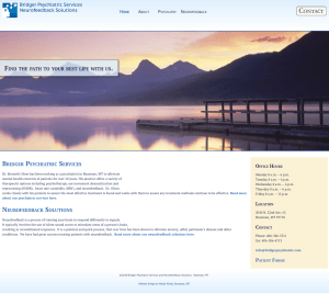 Informational Website Design for Bozeman Medical Office