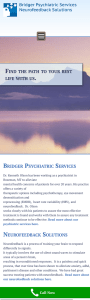 Responsive Website Design for Psychiatry Office Bozeman Montana
