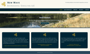 Website Design for Environmental Consulting Agency in Missoula MT