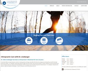 wordpress website design for Bozeman MT