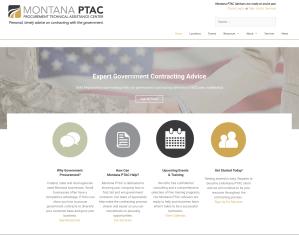wordpress website design for montana government organization
