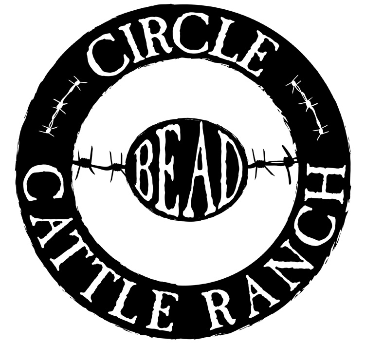 Custom Logo Design Illustration for Bozeman Cattle Ranch