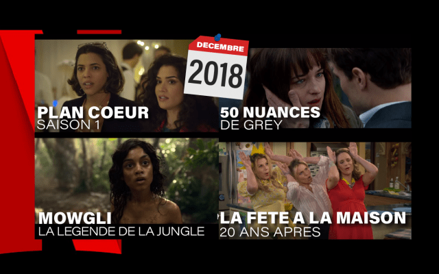 Netflix décembre 2018 séries films documentaires