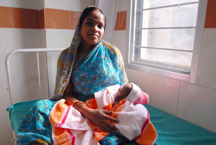 Maternal mortality rates are down