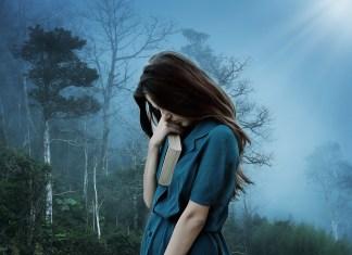 Unhappy Sad Alone Loneliness Sadness Depression