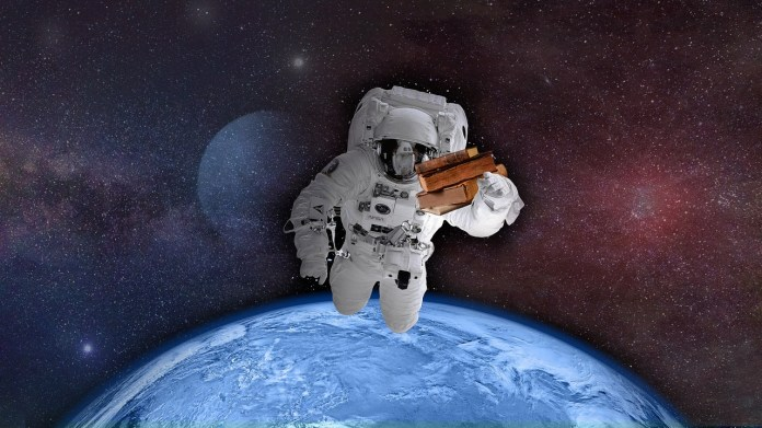 Herpes infection in astronauts