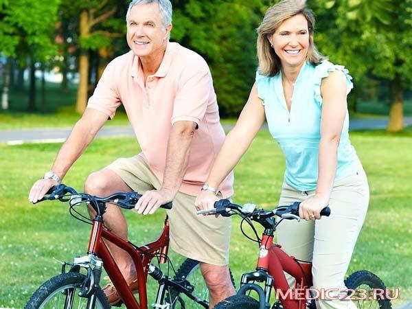 Давление в порядке- езда на велосипеде