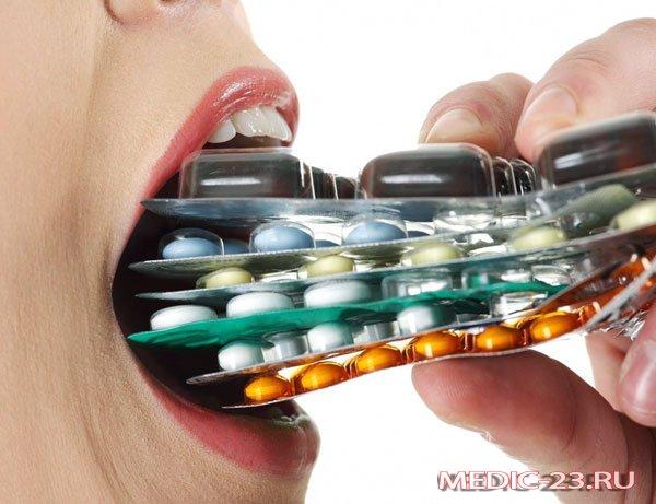 Самолечение антибиотиками