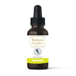 Dr. Bach kapljice Hemorrhoids 30 ml