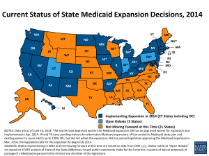 current-status-of-the-medicaid-expansion-decisions-healthreform1