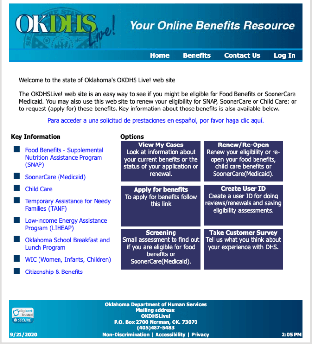 """""""How to Apply for Oklahoma Medicaid Online"""""""