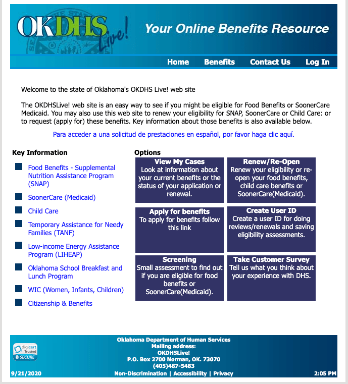 """How to Apply for Oklahoma Medicaid Online"""