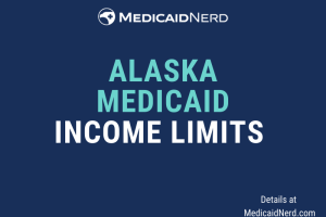 """What are the income limits for Medicaid in Alaska"""