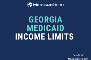 """What are the income limits for Medicaid in Georgia"""