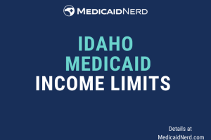 """What are the income limits for Medicaid in Idaho"""