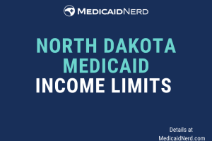 """What are the income limits for Medicaid in North Dakota"""
